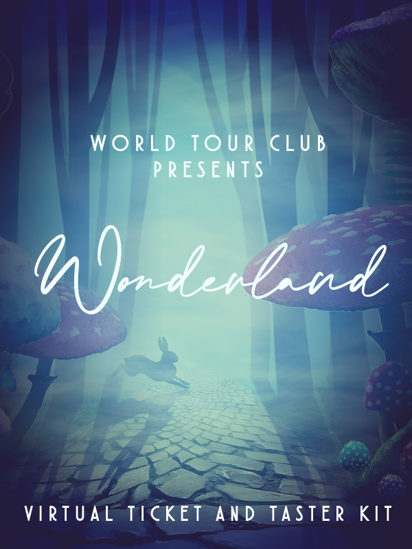 Wonderland Virtual Ticket and Tasting Kit